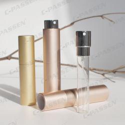 Perfume de alumínio atomizador com frasco de vidro interior (PPC-A-1701)