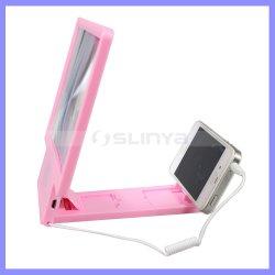 De roze Vouwende Versterkers van de Houder HD van de Tribune van de Telefoon van de Cel 3D Mobiele Scherm Magnifier van de Telefoon met Spreker voor de Telefoon van de Cel van Samsung van iPhone