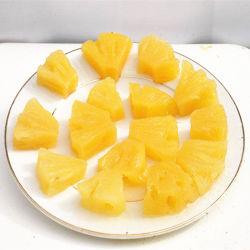 Parties d'ananas en boîte par origine de la Chine dans 850g
