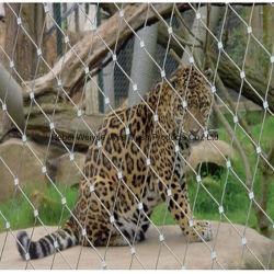 Zoo de corde de fils en acier inoxydable volière de maille filet cage d'animaux