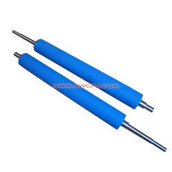 De injectie Gevormde Rol van de Druk van de Laag van Pu Rubber/de Rol van het Voer van het Document met de Schacht van de Kern van het Staal