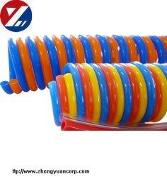 ポリウレタン空気の反動または螺線形またはばねのエア・ホースか管または管