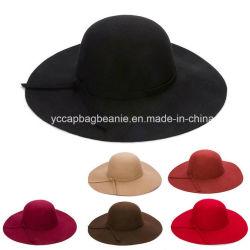 أزياء السيدات العروس عريضة Wool وشعر قبعة