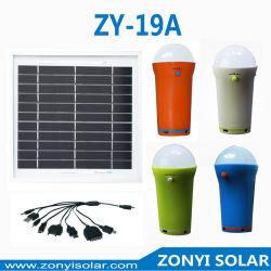 Torche solaire à LED 3 W avec chargeur mobile (Camping lumière solaire)