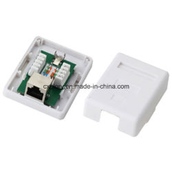 Экранированный кабель Cat. 5e FTP коробки для установки на поверхность