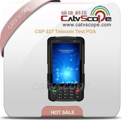 CSP-327 Test per telecomunicazioni PDA/misuratore di potenza ottica/misuratore di livello del segnale TV/VFL