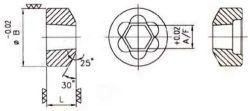 Fraisage à tête hexagonale Die - Outils de formage de fixation de formage à froid