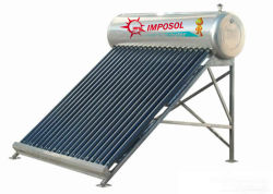 2016 100-300L Non-Pressuried компактный солнечный водонагреватель