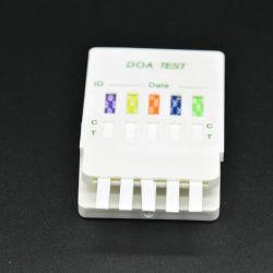 Ce kit de test de drogue approuvée une Étape 5-médicament dans le kit de test 1 Format de l'urine or colloïdal