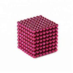 5mm 216PCS bolas de cordões de Descompressão Magnético bricolage Magic Cube Puzzle íman