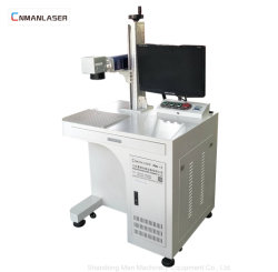 20W 30W automatische Laser-Markierungs-Maschine auf Metallohr-Marken-Plastik