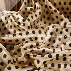 De afgedrukte Stof van het Satijn van het Satijn Fabric/100%Polyester/de Stof van de Zijde