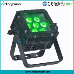 고전력 DMX 7X10W RGBW 실외 LED PAR CAN 조명