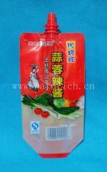 Retortable Microwavable de haute qualité de l'huile de piment Sauce au Poivre Sac de la tuyère d'emballage