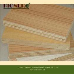 Venta caliente mejor calidad de madera maciza de madera contrachapada de melamina color