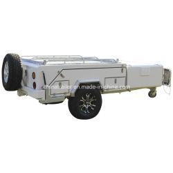 Off Road Em soalho de recolhimento traseiro reboque de caravana