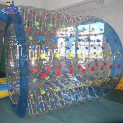 prix d'usine bulle transparente rouleau, l'eau gonflable laminage, l'eau pour les loisirs Jeu de balle de rouleau