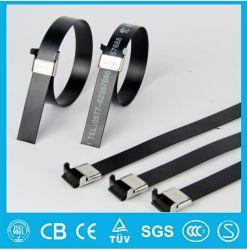 5/8 de pouce Prix Ex-Work Vendre la bille de bonne qualité autobloquant attache de câble en acier inoxydable / toutes les tailles de plastique