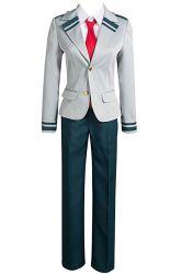 Het vrouwelijke Mannelijke Unisex-Academia Kostuum Cosplay van de School van Tsuyu Eenvormige