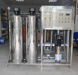 1т/ч блок очистки воды обратного осмоса солнечной системы опреснения воды для питья воды процесса