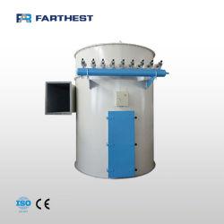 Planta de alimentación de la granja de cangrejo utiliza Máquina de limpieza de polvo de aire