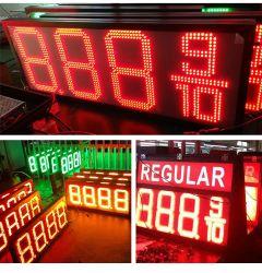 Caricatore diesel/del Regular/benzina/combustibile LED benzina di fissazione dei prezzi Display/LED di gas di prezzi del segno