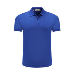 Overhemd van het Polo van de Mens van het Golf van de Sport van de Kleding van de Manier van de Slijtage van de Sporten van het Werk van de douane het Eenvormige