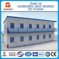 Structure en acier préfabriqués de deux étages / maison/bâtiment préfabriqué/Home