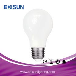 Verre blanc laiteux E26 E27 l'Énergie de base de l'enregistrement de la lumière A60 G45 C35 LED Lampe à incandescence
