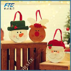 Non-Woven Fabrics Bag Felt Christmas Candy Gift Bag Christmas decorations