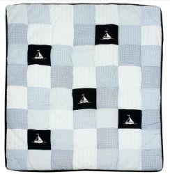Baby Handmade Quilt con Ship Design per il neonato