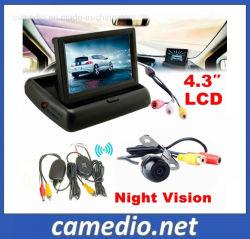 """4.3"""" 자동차 모니터 주차장 카메라 무선 주차 시스템"""
