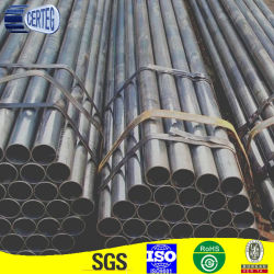 48 mm de tamaño común ronda del tubo de soporte de acero al carbono