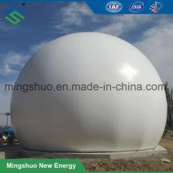 Постоянное давление двойной мембраной биогаза мешок для хранения данных