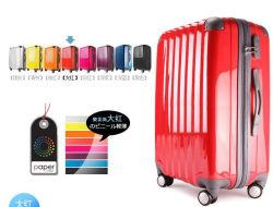 Chariot à bagages Les Bagages à la mode PC Sac bagages colorés