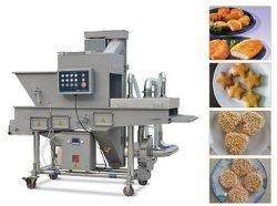 Hamburger-Nugget-Fisch-Garnele-Brot-zerkrümelnde Maschine Sxj600-V