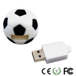 Fußball vorbildlicher USB-greller Fahrer