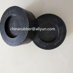 黒いカラー4 PCS包装の性質のゴム製反振動パッド
