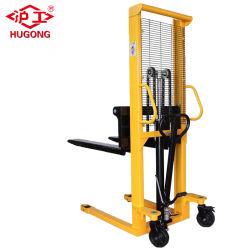 1,5 tonelada mano Apiladora Carretilla elevadora manual con el mejor precio