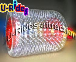 수영장을%s 투명한 팽창식 롤러 공