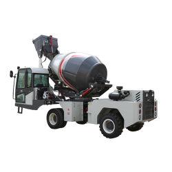 cuve de mélange de transport hydraulique Bétonnière chariot