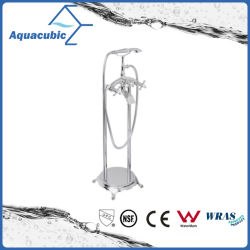 Salle de bain baignoire en acier inoxydable autostable robinet (AF9106-2)