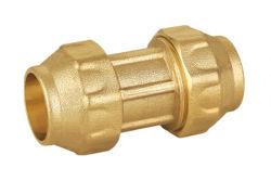 As conexões de latão de compressão de Acoplamento Direto para o tubo de PE
