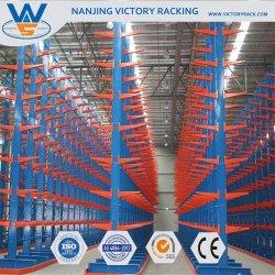 Multi-Tier industrielle de l'acier de l'entrepôt de stockage en rack de cantilever pour tuyau
