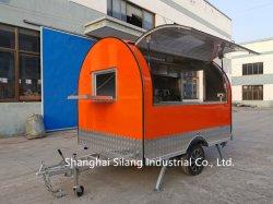 Silang personnalisés pour la restauration de la remorque d'entreprise alimentaire, du poulet frit/ vente de poisson grillé/ Beefsteak chariot, le café Panier