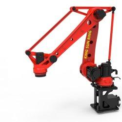 Il robot di industria di 4 assi per caricamento del tornio di CNC, la saldatura ad arco, trattando, trasportando, spruzzando e ricoprendo, sbava, incollare ed imballare