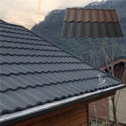 装飾的で標準的なタイプ/Bondのタイプ石の上塗を施してある金属の別荘の屋根瓦の建築構造材料
