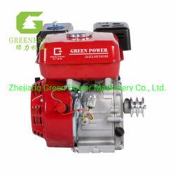 Evermax Gx160 ガソリンエンジン、オイル警告およびプーリ付き グリーン電力グループ