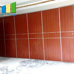 Vidro corrediço de dobragem móveis acústico festas paredes divisórias para Sala de Banquetes