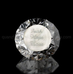 Oem Natale Wedding Dono Inglese Lettering Crystal Diamond Ornamenti